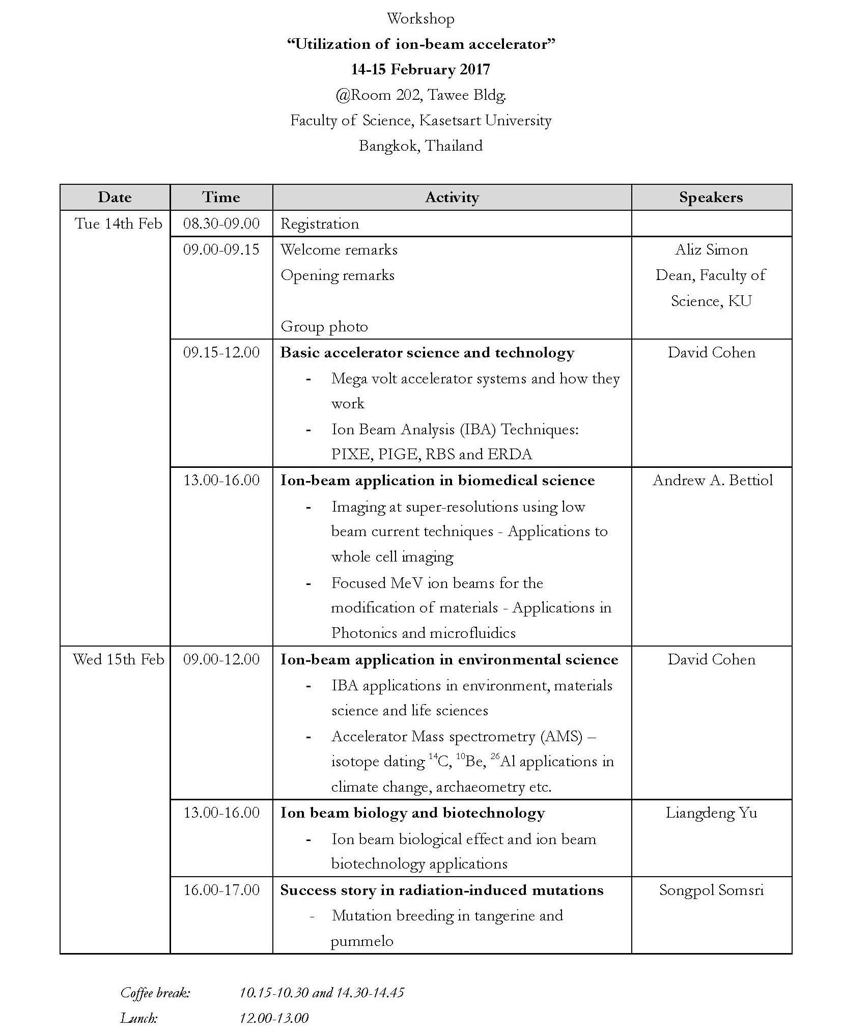 program-of-workshop